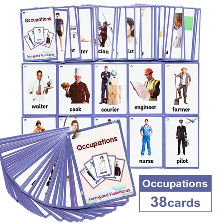 Karty obrazkowe - 'Occupations' Learning Fun (1)