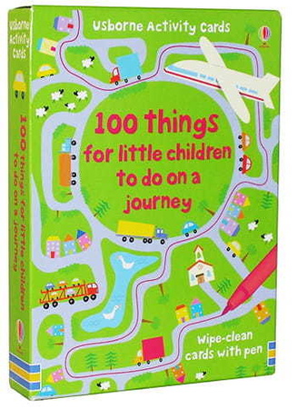 Karty obrazkowe - '100 Things For Kids To Do On a Journey' Usborne (1)