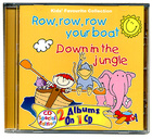 Piosenki - 'Row Row Row Your Boat and Down in the Jungle' CD, CRS Records (2)