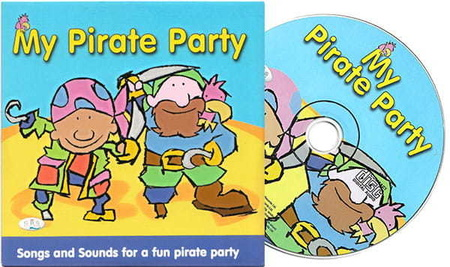 Piosenki - 'My Pirate Party' CD, CRS Records (1)