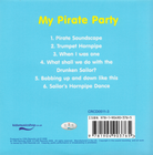 Piosenki - 'My Pirate Party' CD, CRS Records (2)