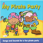 Piosenki - 'My Pirate Party' CD, CRS Records (3)