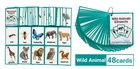 Karty obrazkowe -  'Wild Animals and Insects' Learning Fun (2)
