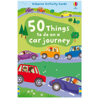 Karty obrazkowe - '50 things to do on a car journey' Usborne (7)