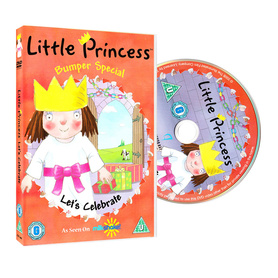 Bajki po angielsku - Little Princess 'Let's Celebrate' DVD