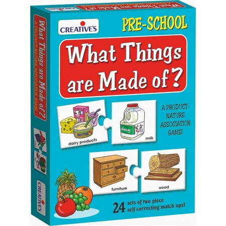 Gra językowa - 'What Things are Made of?' Creative Educational (1)
