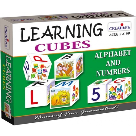 Gra językowa - 'Learning Cubes' Creative Educational (1)