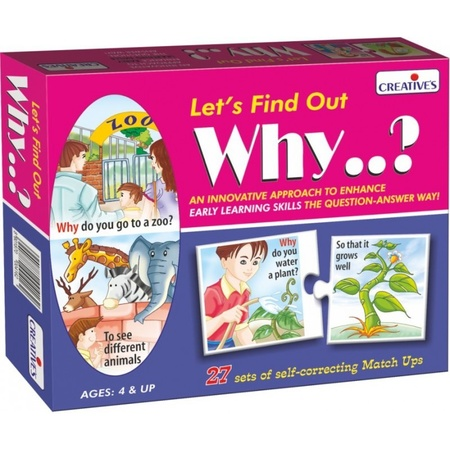 Gra językowa - 'Let's Find out- Why?' Creative Educational (1)