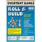 Gra językowa - 'Roll and Build Everyday Games' Creative Educational (2)