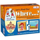 Gra językowa - 'Let's Find out- Where?' Creative Educational (1)