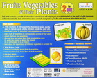 Gra językowa - 'Fruits Vegetables and their Plants 2 in 1' Creative Educational (2)